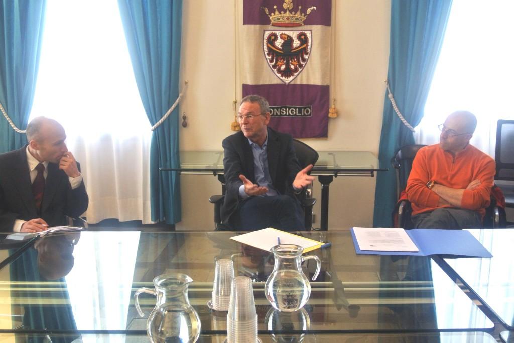 Dorigatti, Sergio Bailo e Lorenzo Rigo