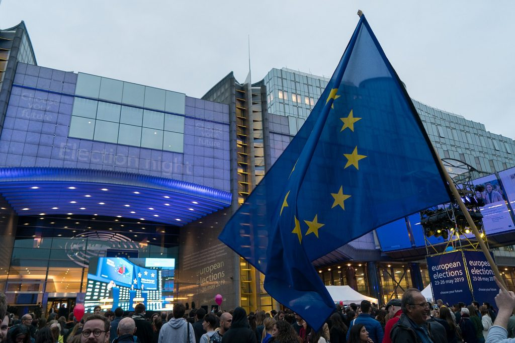 European Parliament from EU, CC BY 2.0 <https://creativecommons.org/licenses/by/2.0>, via Wikimedia Commons